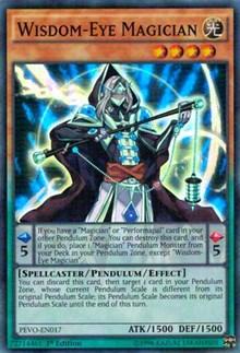 Wisdom-Eye Magician, YuGiOh, Pendulum Evolution