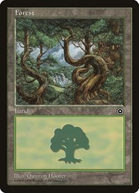 Forest (151), Magic: The Gathering, Portal Second Age