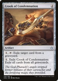 Crook of Condemnation, Magic: The Gathering, Hour of Devastation