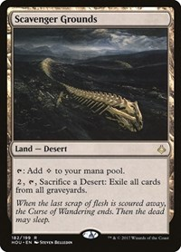 Scavenger Grounds, Magic: The Gathering, Hour of Devastation