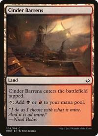 Cinder Barrens, Magic: The Gathering, Hour of Devastation