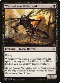 Wasp of the Bitter End, Magic: The Gathering, Hour of Devastation