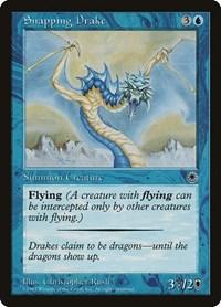 Snapping Drake (Reminder Text), Magic: The Gathering, Portal