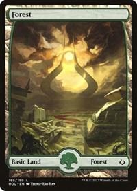 Forest (189) - Full Art, Magic: The Gathering, Hour of Devastation