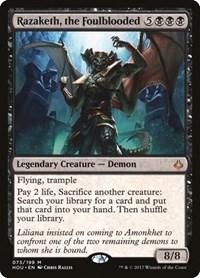 Razaketh, the Foulblooded, Magic, Hour of Devastation