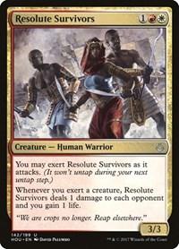 Resolute Survivors, Magic: The Gathering, Hour of Devastation