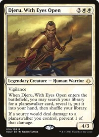 Djeru, With Eyes Open, Magic, Hour of Devastation