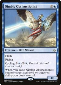 Nimble Obstructionist, Magic: The Gathering, Hour of Devastation