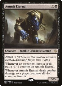 Ammit Eternal, Magic: The Gathering, Hour of Devastation