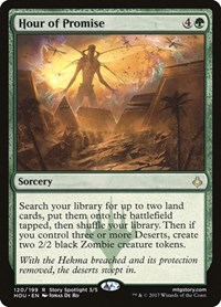 Hour of Promise, Magic: The Gathering, Hour of Devastation