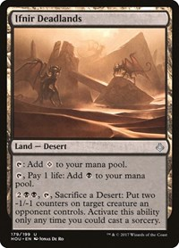 Ifnir Deadlands, Magic: The Gathering, Hour of Devastation