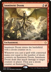 Imminent Doom, Magic: The Gathering, Hour of Devastation