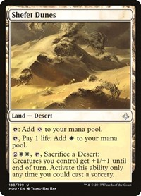 Shefet Dunes, Magic, Hour of Devastation
