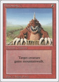 Burrowing, Magic: The Gathering, Revised Edition