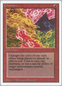 Chaoslace, Magic: The Gathering, Revised Edition
