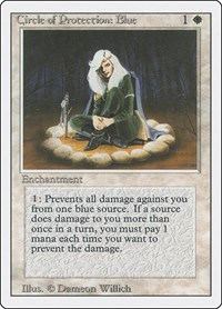 Circle of Protection: Blue, Magic: The Gathering, Revised Edition