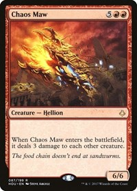 Chaos Maw, Magic: The Gathering, Hour of Devastation