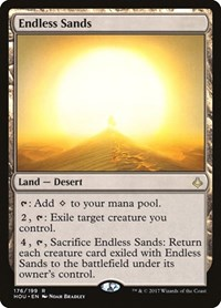 Endless Sands, Magic: The Gathering, Hour of Devastation