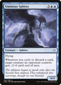 Ominous Sphinx, Magic: The Gathering, Hour of Devastation
