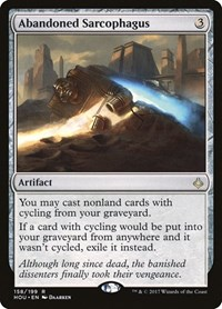 Abandoned Sarcophagus, Magic: The Gathering, Hour of Devastation