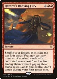 Hazoret's Undying Fury, Magic: The Gathering, Hour of Devastation
