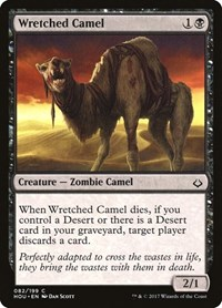 Wretched Camel, Magic: The Gathering, Hour of Devastation