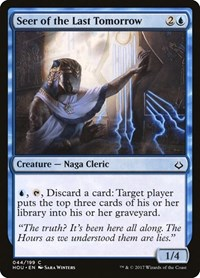 Seer of the Last Tomorrow, Magic: The Gathering, Hour of Devastation