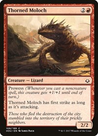 Thorned Moloch, Magic: The Gathering, Hour of Devastation