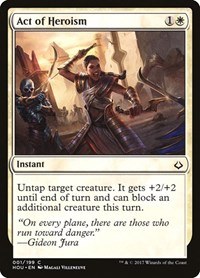 Act of Heroism, Magic: The Gathering, Hour of Devastation