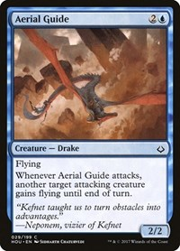Aerial Guide, Magic: The Gathering, Hour of Devastation