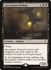 Apocalypse Demon, Magic: The Gathering, Hour of Devastation