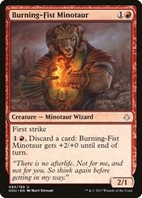 Burning-Fist Minotaur, Magic: The Gathering, Hour of Devastation
