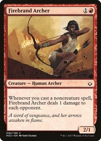 Firebrand Archer (Foil)