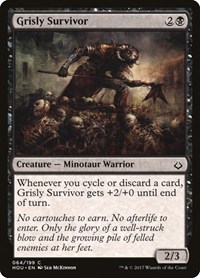 Grisly Survivor, Magic: The Gathering, Hour of Devastation