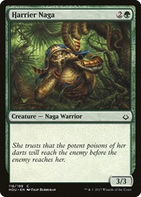 Harrier Naga, Magic: The Gathering, Hour of Devastation