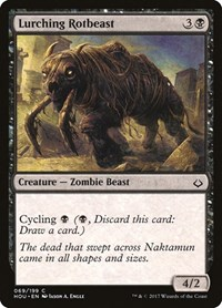 Lurching Rotbeast, Magic: The Gathering, Hour of Devastation