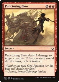 Puncturing Blow, Magic, Hour of Devastation