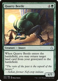 Quarry Beetle, Magic: The Gathering, Hour of Devastation