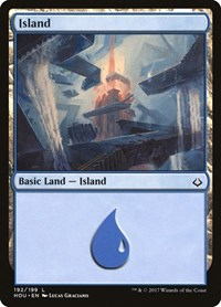 Island (192), Magic: The Gathering, Hour of Devastation