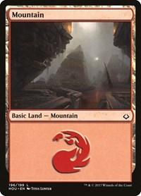 Mountain (196), Magic: The Gathering, Hour of Devastation