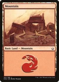 Mountain (197), Magic: The Gathering, Hour of Devastation