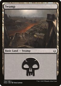 Swamp (194), Magic: The Gathering, Hour of Devastation