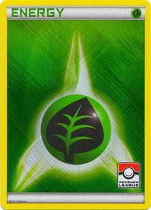 Grass Energy (2011 Pokemon League Promo), Pokemon, League & Championship Cards