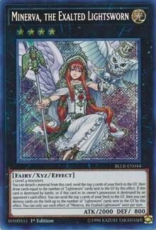 Minerva, the Exalted Lightsworn, YuGiOh, Battles of Legend: Light's Revenge