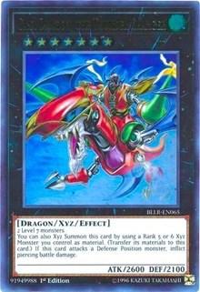 Gaia Dragon, the Thunder Charger, YuGiOh, Battles of Legend: Light's Revenge