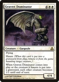Graven Dominator, Magic: The Gathering, Guildpact