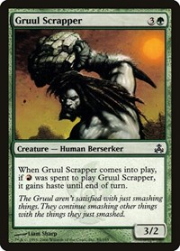 Gruul Scrapper, Magic: The Gathering, Guildpact