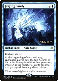 Fraying Sanity, Magic: The Gathering, Prerelease Cards