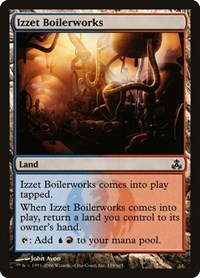 Izzet Boilerworks, Magic: The Gathering, Guildpact