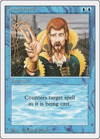 Counterspell, Magic: The Gathering, Revised Edition